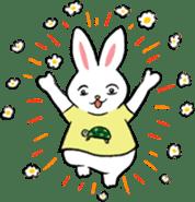 A little fatty-rabbit sticker #302832