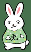 A little fatty-rabbit sticker #302833