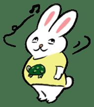 A little fatty-rabbit sticker #302837