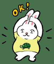 A little fatty-rabbit sticker #302838