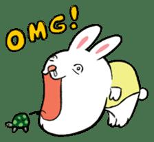 A little fatty-rabbit sticker #302840