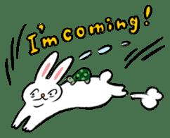 A little fatty-rabbit sticker #302841