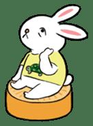 A little fatty-rabbit sticker #302846