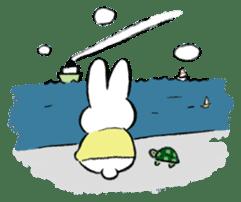 A little fatty-rabbit sticker #302847