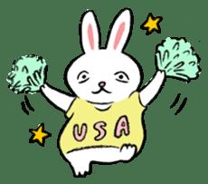 A little fatty-rabbit sticker #302848