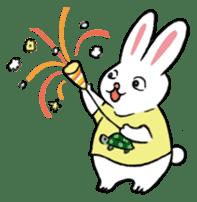 A little fatty-rabbit sticker #302854