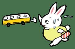 A little fatty-rabbit sticker #302855