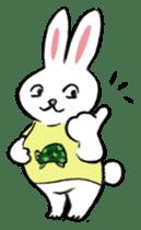 A little fatty-rabbit sticker #302856