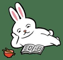 A little fatty-rabbit sticker #302857