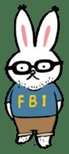 A little fatty-rabbit sticker #302858