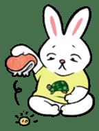A little fatty-rabbit sticker #302860