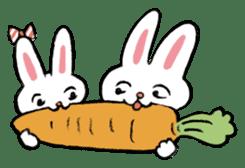 A little fatty-rabbit sticker #302861