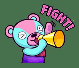 """Cyareguma"", the cool style bear sticker #303586"