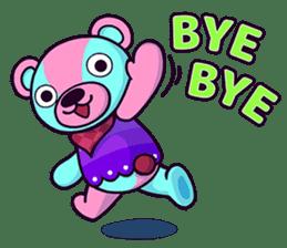 """Cyareguma"", the cool style bear sticker #303591"
