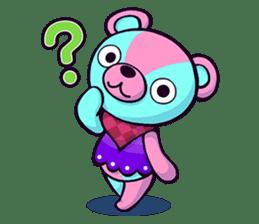 """Cyareguma"", the cool style bear sticker #303597"