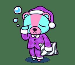 """Cyareguma"", the cool style bear sticker #303608"