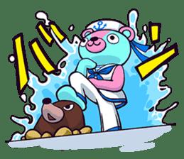 """Cyareguma"", the cool style bear sticker #303617"