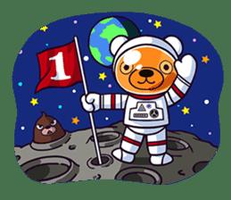 """Cyareguma"", the cool style bear sticker #303621"