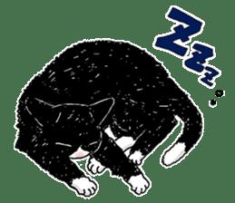 Black & White CATS sticker #303750