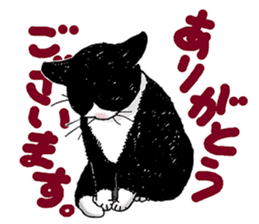Black & White CATS sticker #303760