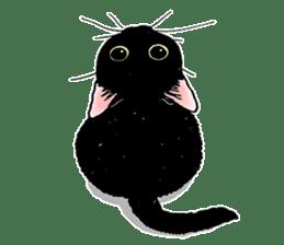 Black & White CATS sticker #303781