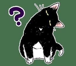 Black & White CATS sticker #303783