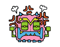 Monsuta sticker #304360