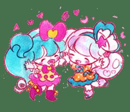 MAGICAL GIRL SHIBUPOPPI sticker #304951