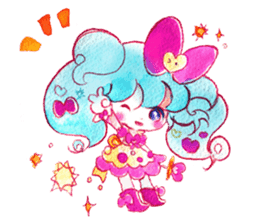 MAGICAL GIRL SHIBUPOPPI sticker #304976