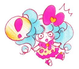MAGICAL GIRL SHIBUPOPPI sticker #304981