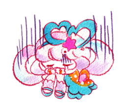 MAGICAL GIRL SHIBUPOPPI sticker #304982