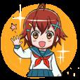 女子高生 X子(えくすこ)