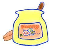 Honey aile sticker #305595
