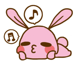 UsaHiyo and mofumofusan sticker #305789
