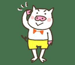 "a little pig named ""BiBiBu"" sticker #306825"