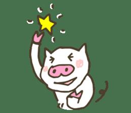 "a little pig named ""BiBiBu"" sticker #306826"