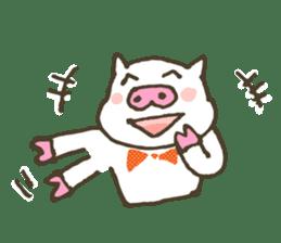 "a little pig named ""BiBiBu"" sticker #306827"
