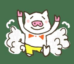 "a little pig named ""BiBiBu"" sticker #306830"