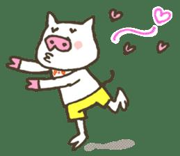 "a little pig named ""BiBiBu"" sticker #306834"