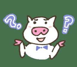 "a little pig named ""BiBiBu"" sticker #306836"