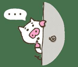 "a little pig named ""BiBiBu"" sticker #306837"