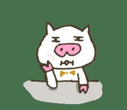 "a little pig named ""BiBiBu"" sticker #306838"