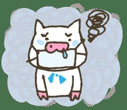 "a little pig named ""BiBiBu"" sticker #306843"