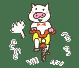 "a little pig named ""BiBiBu"" sticker #306847"