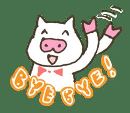 "a little pig named ""BiBiBu"" sticker #306849"