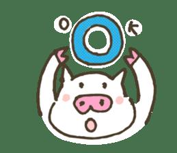 "a little pig named ""BiBiBu"" sticker #306851"