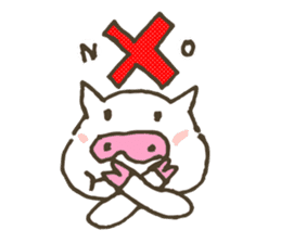 "a little pig named ""BiBiBu"" sticker #306852"