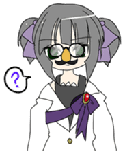 """""""Misshitsu Syndrome""""charactor's Stamps! sticker #306883"""