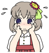 """""""Misshitsu Syndrome""""charactor's Stamps! sticker #306888"""
