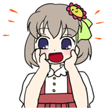 """""""Misshitsu Syndrome""""charactor's Stamps! sticker #306889"""